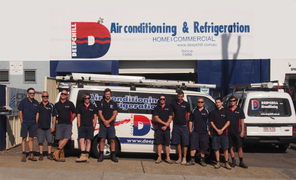 Deepchill service and repair team